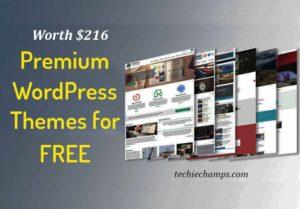 Premium wordpress themes for free